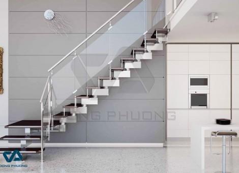 Lắp đặt cầu thang nhôm kính sao cho hợp phong thủy?